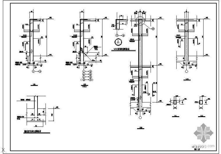 某地下室墙体大样节点构造详图(2)