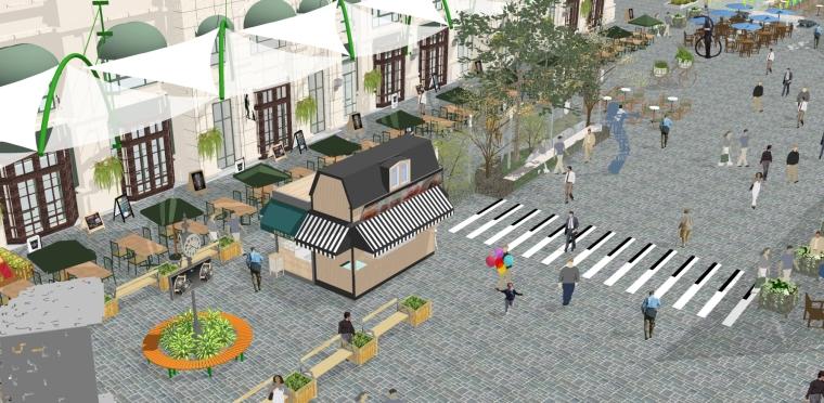 [体验式商业街改造设计]常州天鹅湖音乐小镇_43