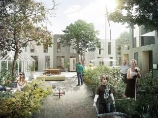 丹麦Naerheden未来郊区