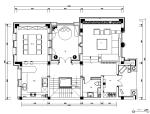 [浙江]550方大都会风格样板房CAD施工图(含实景图)