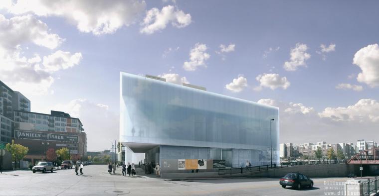 丹佛现代艺术博物设计方案