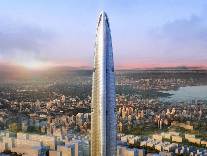 中国建筑又创新高,将刷新纪录排行中国第一,今年即将开放