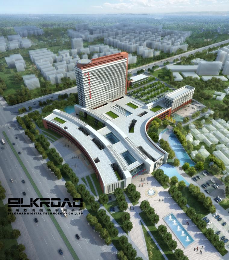 [武汉]某市第一人民医院新院区方案文本(CAD+视频+估算+效果图)