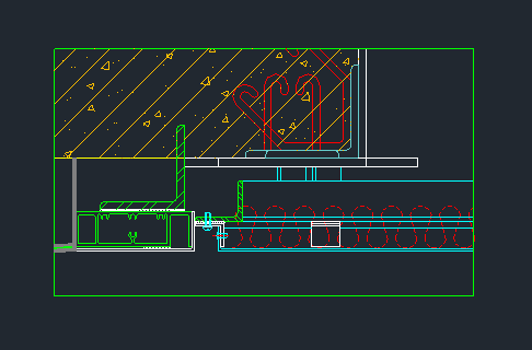 8张经典变形缝及吊顶节点大样图_6