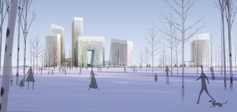 鄞州软件创意产业园首南街道规划换设计方案文本