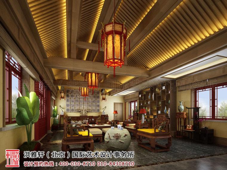 古典的泊莲禅寺寺院中式装修效果图案例_3