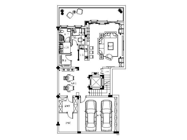 [南京]欧式优雅浪漫别墅室内设计施工图