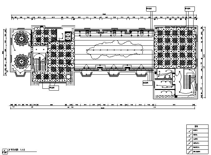 【新疆】欧式民族混搭风格餐饮空间设计施工图(附效果图)_3