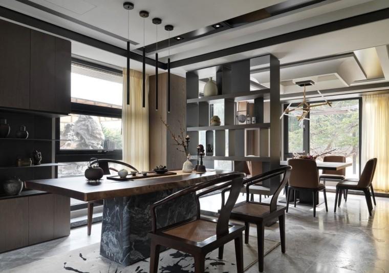 混搭风格的住宅空间-9