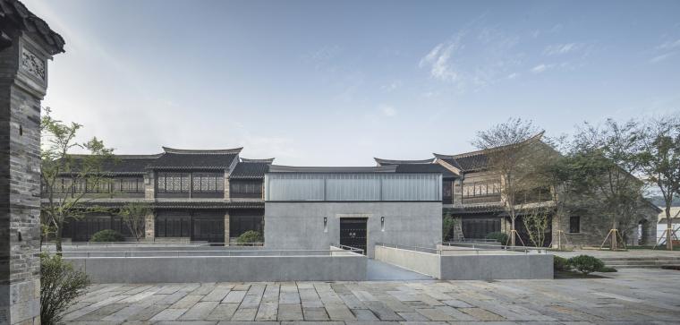徐州现代语境表现的城墙博物馆外部实景图 (2)