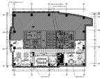 【福建】某集团现代风格办公室设计CAD施工图(含效果图)