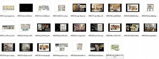 [青岛]连锁旅馆品牌高档五星级商务酒店设计方案资料图纸总缩略图