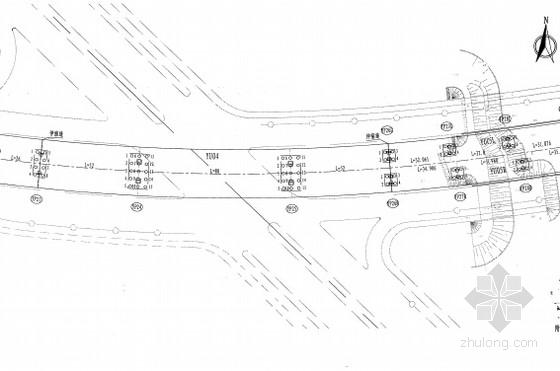 [河南]顶推法50m跨波形钢腹板预应力组合连续箱梁桥图纸196张