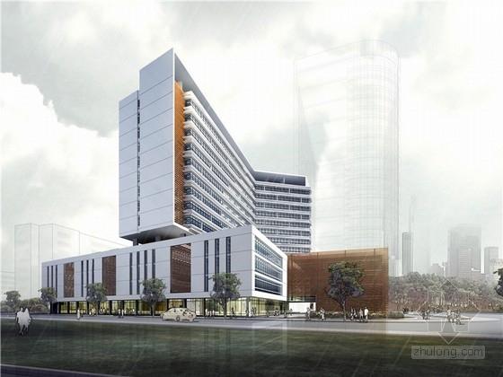 [福建]十四层人民医院建筑设计方案文本(加建项目 值得学习)