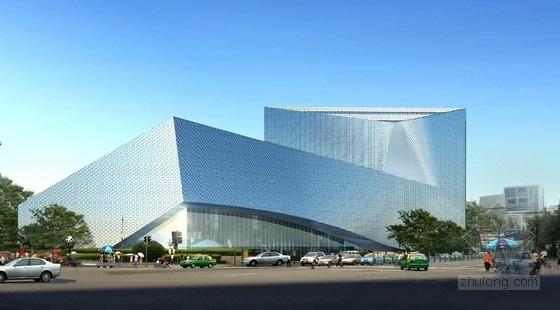 [四川]现代风格省级六层美术馆建筑方案文本