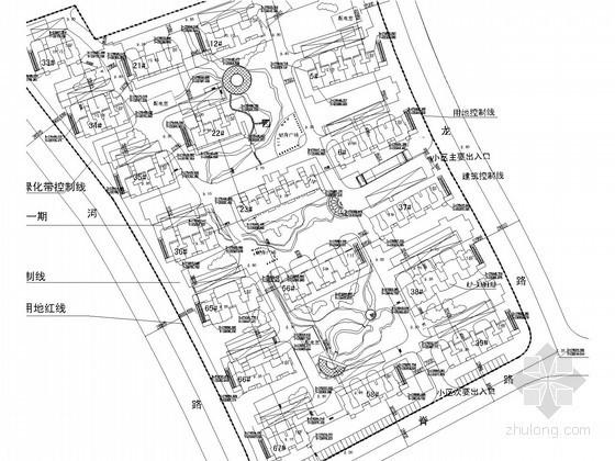 [江苏]高档小区室外管网工程给排水施工图纸(含水力计算表、高程表)