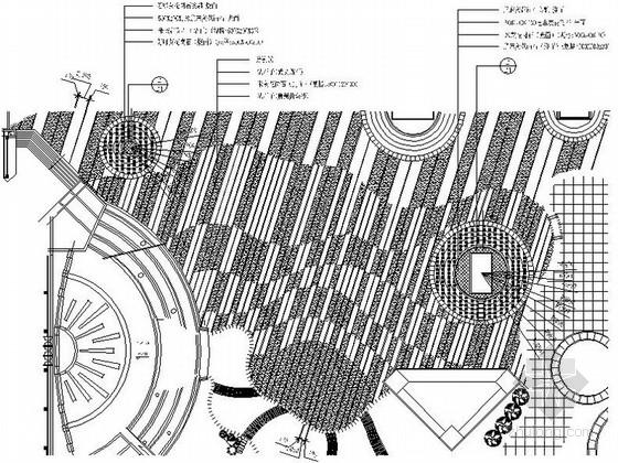 [杭州]综合活动广场景观设计施工图