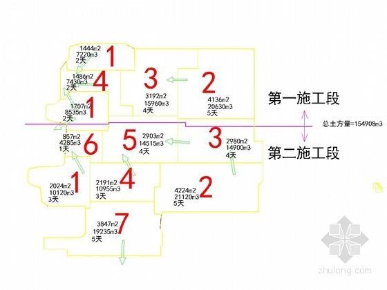 [江苏]桩锚加水泥土墙基坑支护施工方案(附CAD方案图)