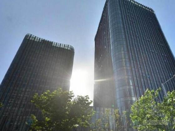 [上海]多种结构形式办公楼群结构施工图(含详细建施)