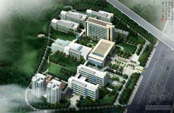 广东深圳医院景观及建筑设计方案