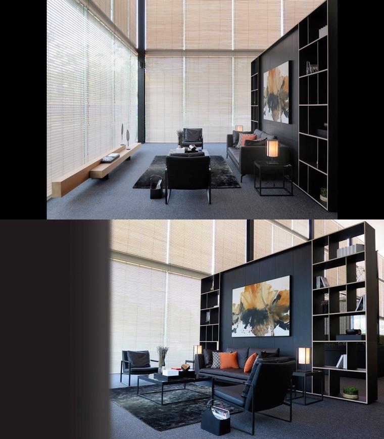 又酷又简洁的现代客厅_20