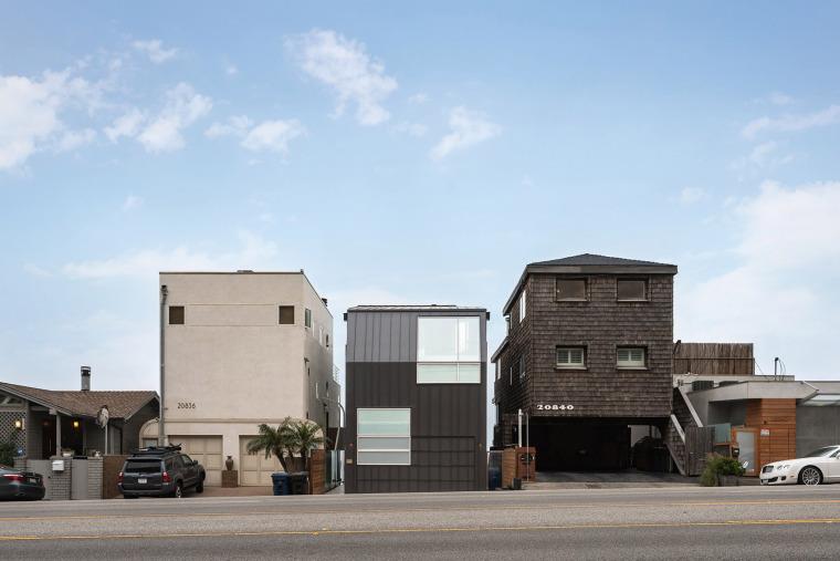 海滨的Noir住宅