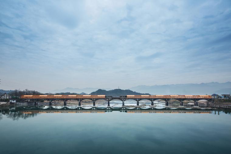 石门廊桥景观