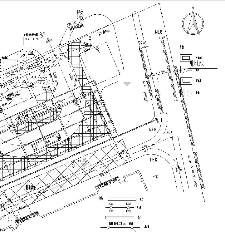 四川某车站给排水施工图