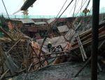 6月24日上海奉贤一工地发生模架坍塌事故 已致1死9伤