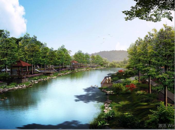 [云南]盘龙江清水通道景观改造工程方案设计
