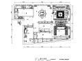 [重庆]灰色调后现代风格自建房三居室住宅设计施工图(附效果图)