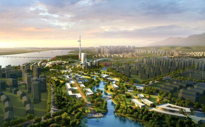 [四川]德国知名设计公司生态滨湖湿地公园景观规划设计方案