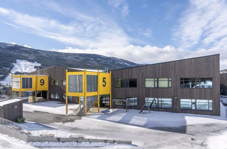 中小学建筑设计:挪威古尔学校/案例