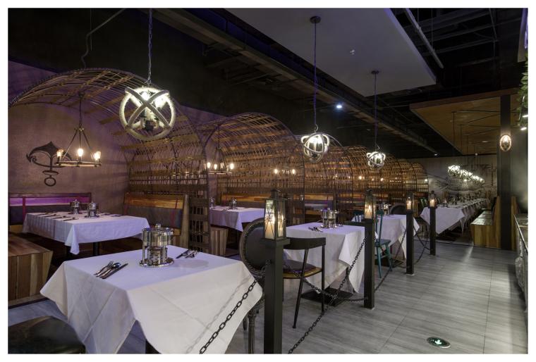 加勒比主题餐厅_3