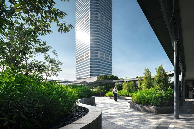 13-新加坡Comtech商业园区景观设计第13张图片