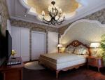 古典欧美卧室3D模型下载