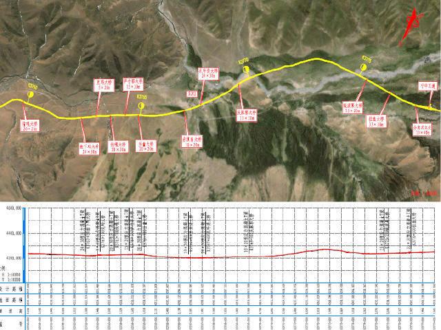 中交2016年编制双向四车道高速公路勘察设计投标技术文件(建议书,设计图,效果图)