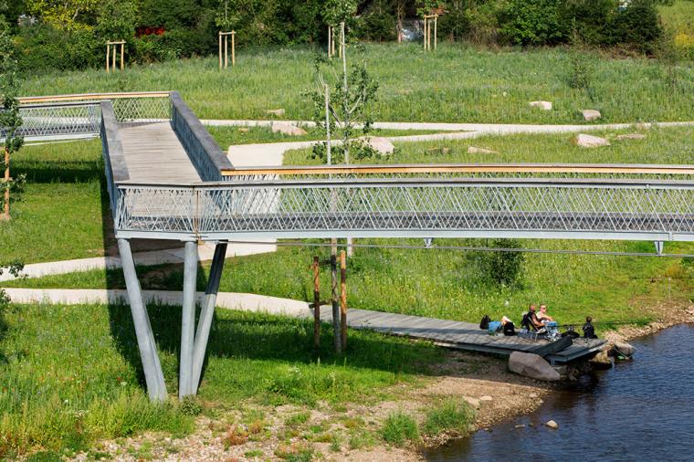 法国默尔特河岸景观设计_7