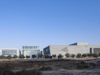 渭南三幢文化建筑