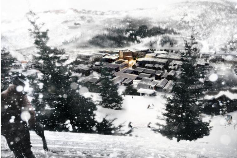 [美国]高层超现代风格艺术中心建筑设计方案文本(big事务所)