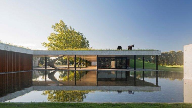 阿根廷覆草式屋顶景观