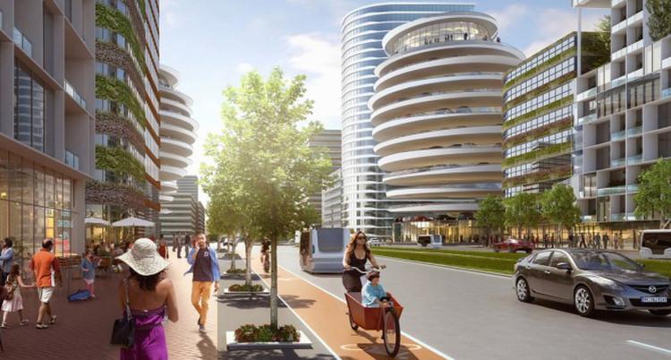 北京新政务区规划竞赛由Cityförster获一等奖