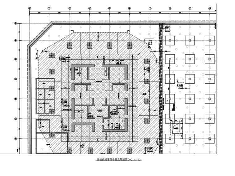 67层超高层综合楼框筒结构施工图2017