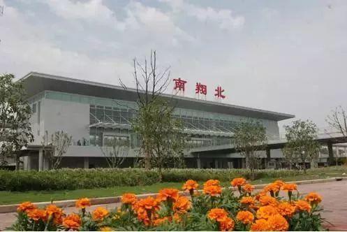 """中国高铁站 沪宁高速铁路""""南翔北站"""""""