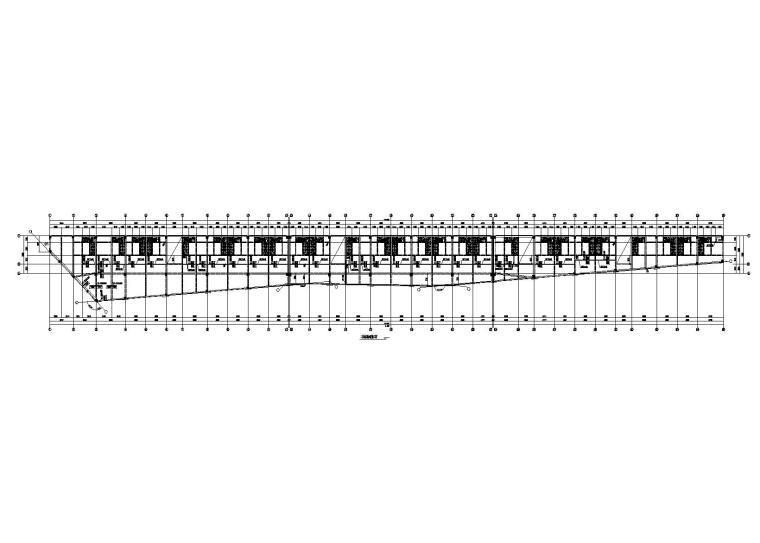 [郑州]3层钢混框架结构月子中心改造加固施工图(2015)
