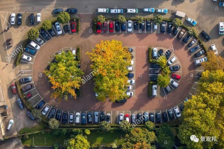 日本停车场2平米能停204辆车