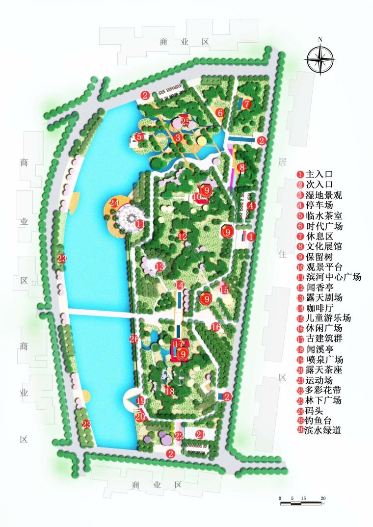 滨河公园景观设计_3