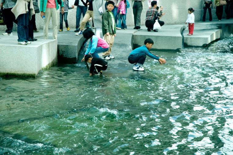 韩国ChonGae运河修复工程_4