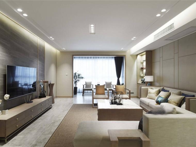 宝鸡新中式风格的居住空间