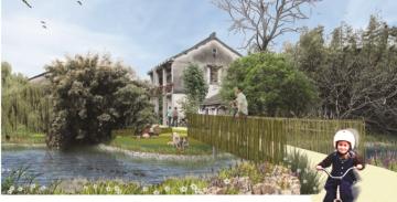 [上海]生态农业田园湿地公园景观规划设计方案